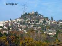 view of Forcalquier