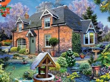 Casa di pittura in campagna