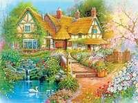 Ζωγραφική σπιτιού στη χώρα