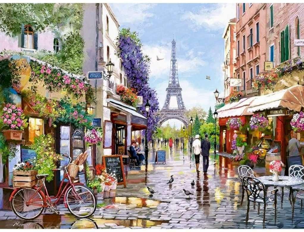 paříž - řadové domy - m (11×9)