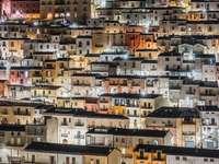 fotografie de noapte a Calitri Italia