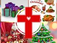 Puzzle świąteczne