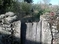 Tipica recinzione di Sayago. Zamora-Spagna.