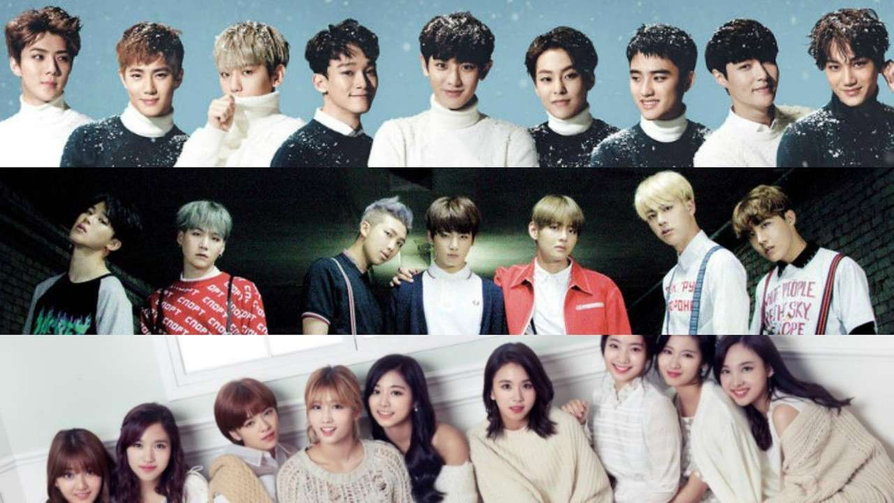 Kpop Bts,Exo And other