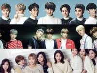 Kpop Bts, Exo és egyéb