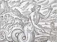 had s mužskou hlavou