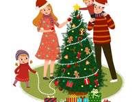 Tradice: zdobení vánočního stromku