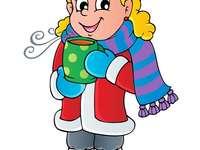 Je zima ! Zimní oblečení