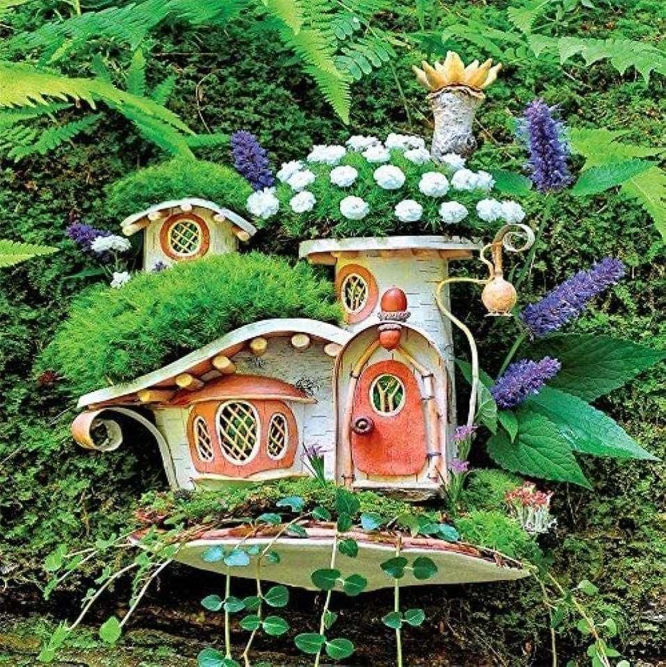 Květinový dům - - Květinový dům na venkově - (12×13)