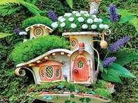 Къща за цветя