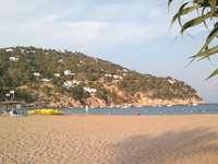 Spiaggia a Ibiza, Spagna