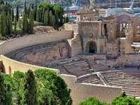 Cartagena Römisches Theater Spanien