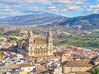 Ciudad de Jaén en España