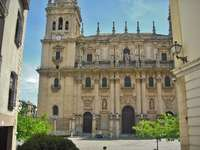 Město Jaen ve Španělsku
