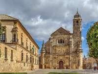 Miasto Ubeda w Hiszpanii