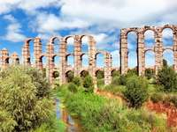 Merida Stadt in Spanien