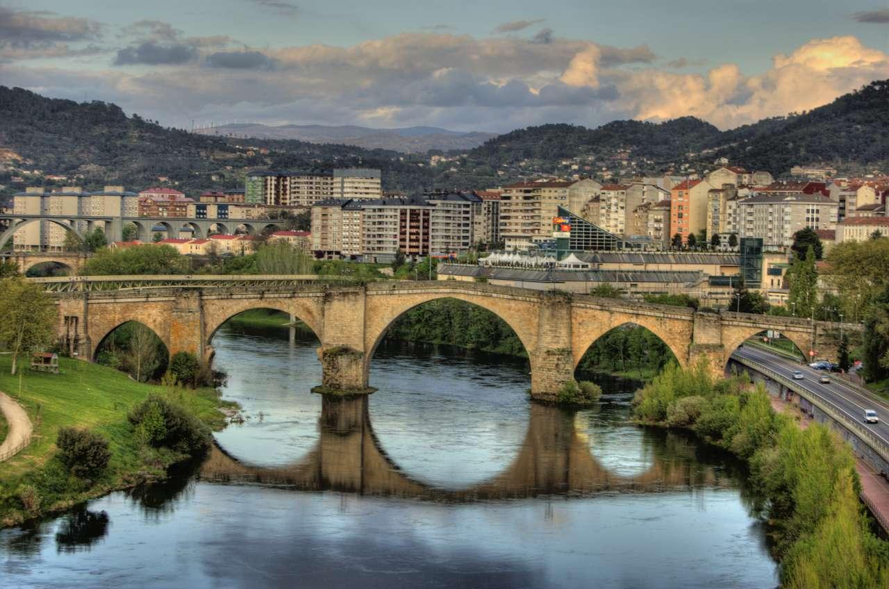 Ponte romano di Ourense in Spagna (15×10)