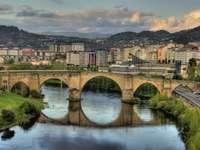Ponte romano di Ourense in Spagna