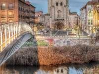 Città di Palencia in Spagna
