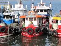 Puerto de Vigo en España