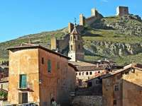 Albarracin medieval city in Spain