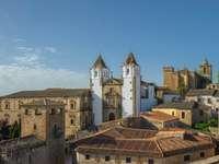 Miasto Estremadura w Hiszpanii