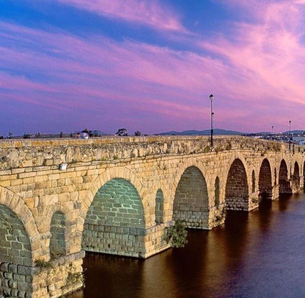 Extremadura Old Bridge Spagna (12×12)