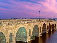 Extremadura Old Bridge Spagna