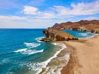 Playa de Monsul Spanien