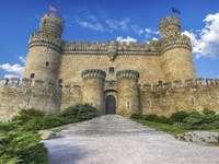 Medeltida slott i Spanien