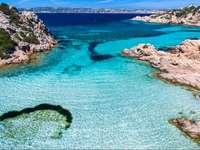 Νησί Caprera-Σαρδηνία