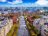 Πεδία Elysée στο Παρίσι