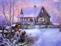 télen otthon