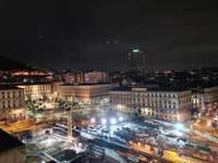 Piazza Municipio Neapol Itálie
