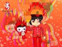 huan huan i jego matka