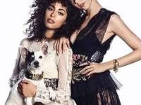Nadia en Carla