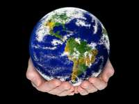 Terre - puzzle du globe