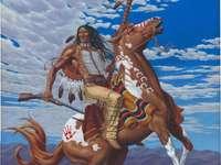 Sioux na koniu