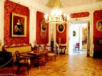 interior of the palace in Wilanów