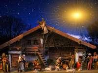 Karácsonyi betlehem