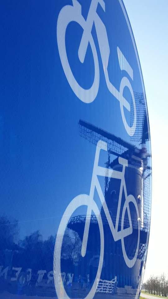 Molino de tablas para bicicletas De Korenbloem Kortgene - Molen De Korenbloem Kortgene (8×15)