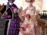 Weneckie maski i kostiumy