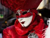 Venetian masks and costumes
