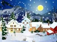 Téli éjszaka
