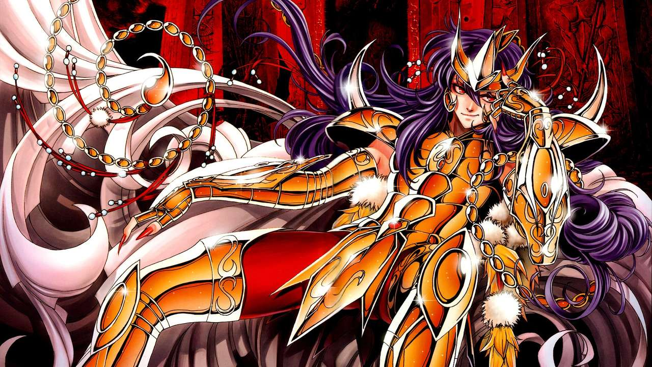 Saint Seiya Milo - Santo Seiya Milo, cavaleiro dourado do escorpião (14×8)