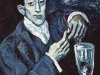 """The Absinthe Drinker"""