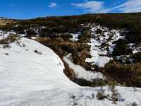 Neve e acqua sulle montagne di Sanabria