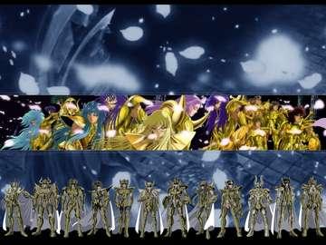 Szent Seiya Az aranyak