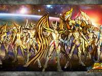 Alma do soldado Saint Seiya