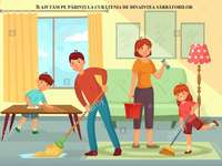 Pomáháme rodičům uklízet